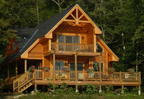 Cottage Design custom home, cottage, vacation property and garage plans. regan