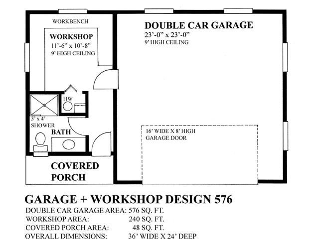 Garage plan 576 layout regan swallow design regan Garage layout planner