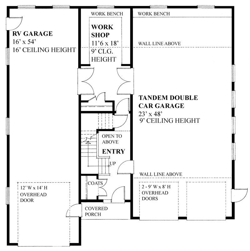 Two car garage workshop layout woodshop layout ideas an for 2 car garage workshop layout