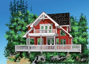 custom home, two storey