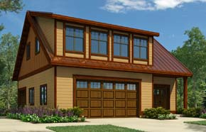 Regan Swallow Design Ltd. - Garage Plan 2284
