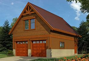 Regan Swallow Design Ltd. - garage plan
