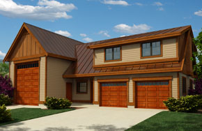 Regan Swallow Design - Plan 2353 - Garage, RV, Apartment